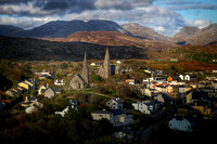 The Twin Spires of Clifden