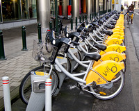 Brussels Yellow Bikes