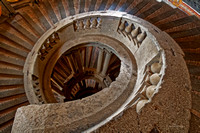 Grand Spiral Staircase - Looking Down
