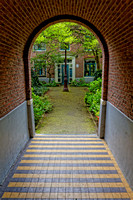 Courtyard Entrance - Amsterdam
