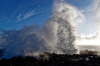 High Surf and Blowhole