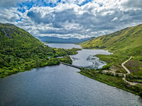 Pollacappul Lough and Kylemore Lough