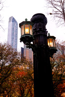 Iconic Central Park Light