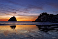 Cape Kiwanda - Winter Sunset