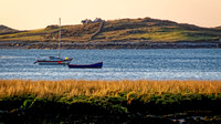 Boats Anchored in Clifden Bay